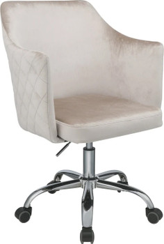 AMANDA Champagne Office Chair