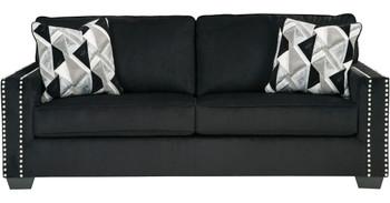 GUSTOV Black Sofa & Loveseat