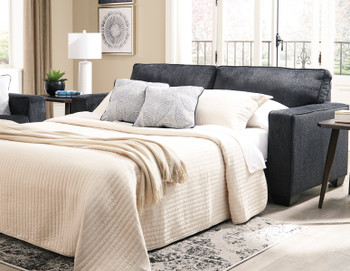 STELLAR Dark Gray Queen Sofa Sleeper