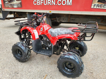 Razr Spider Red 120cc ATV- Large Youth/Kids
