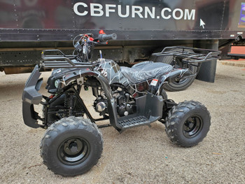 Razr Spider Black 125 ATV- Large Youth/Kids