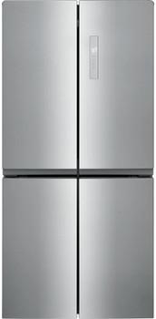 VEZONE F21 Brushed Steel 17.4 Cu. Ft. Four-Door Refrigerator