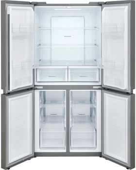 VEZONE F20 Brushed Steel 17.4 Cu. Ft. Four-Door Refrigerator
