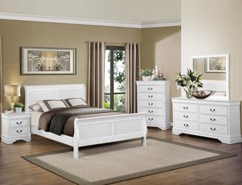 NIMES White Bedroom Set