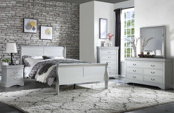 NIMES Silver Bedroom Set