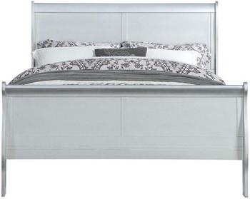 NIMES Silver Bedroom Set