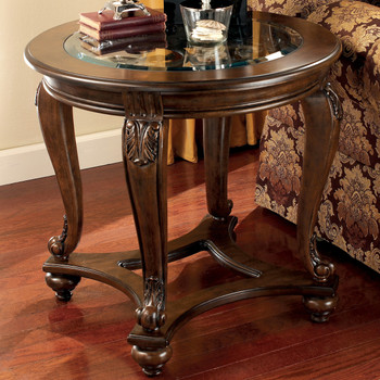 Bourges Round End Table