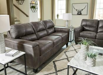 VUHL Dark Gray Sofa & Loveseat