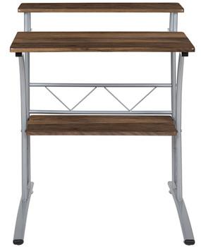 "BOHDI 28"" Wide Brown Desk"