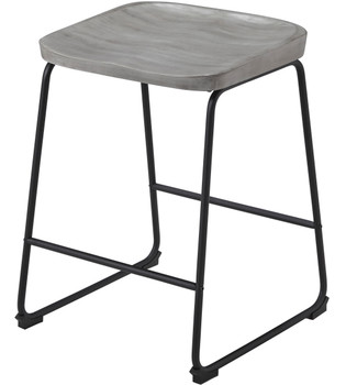 REEPA Gray Counter Stool