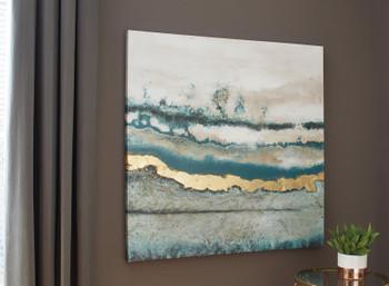 "AMENA 39"" Wide Wall Art"