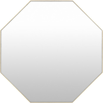 "BROOKE 40"" Gold Wall Mirror"