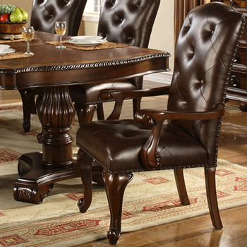 Bradford Dark Brown Arm Chair