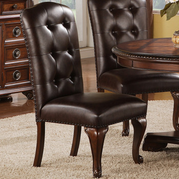 Bradford Dark Brown Side Chair