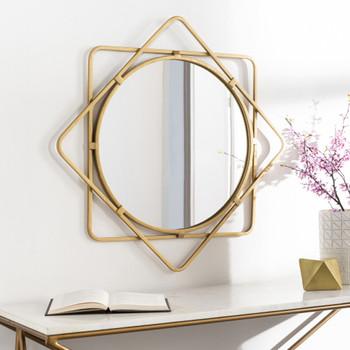 """NAAMAH 28"""" Wall Mirror"""