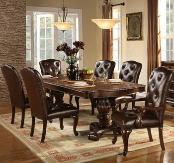 Bradford Dark Brown Dining Table