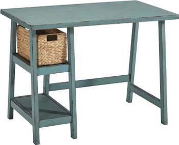 """EVIE Antique Teal 42"""" Wide Desk"""