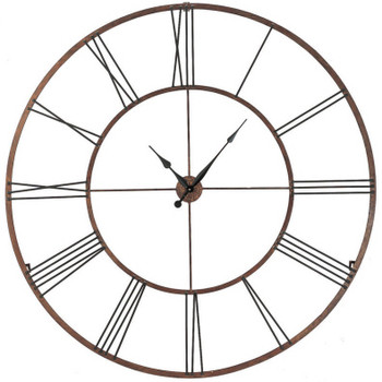 "Roman XL Two-Tone 50"" Wall Clock"