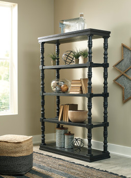 Akia Black Accent Cabinet