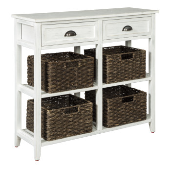 Daylin White Sofa Table
