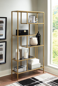 Chasen Gold Bookcase