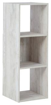 DARIA White 3 Cube Bookcase
