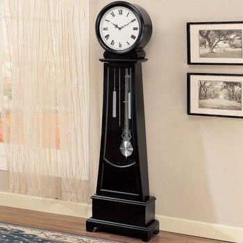 Mel Black Grandfather Clock