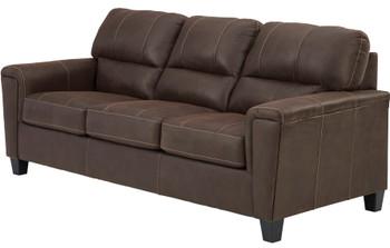 """VUHL Dark Brown 89"""" Wide Sofa"""
