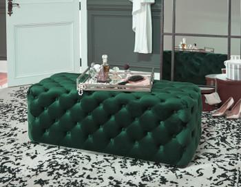 Puna Green Ottoman