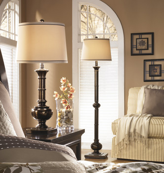 "Lodi Bronze 60.5""H Floor Lamp"