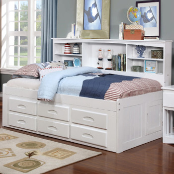 BAYCREEK White Storage Daybed