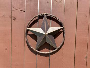 "LASSO Texas Star 12.5"" Wide Wall Decor"