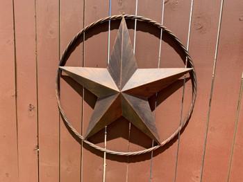 "LASSO Texas Star 32"" Wide Wall Decor"