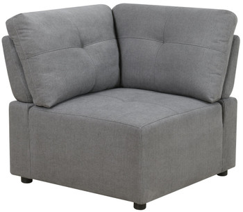 LAURENT Gray 7-PC Sectional with USB Console