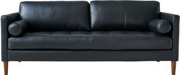 CAMDEN Black Sofa & Loveseat