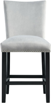 VALERY Gray Counter Chair