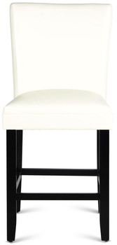 MELENA White Counter Chair
