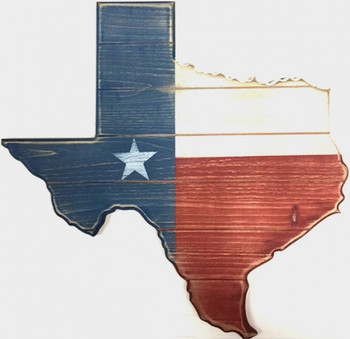 "KERRVILLE 18"" Wide Texas Wall Art"