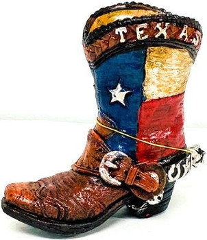LAMESA Texas Boot Pencil Holder