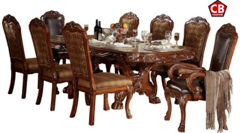ACKERLEY Cherry 9 Piece Dining Set