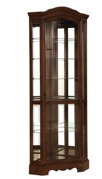 CHARLOTTE 6-Shelf Curio Cabinet