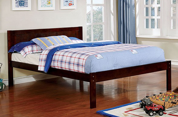 Akiva Dark Walnut Full Bed