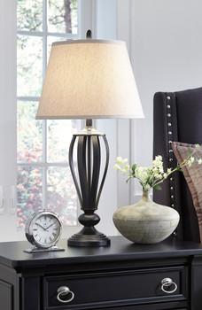 "Faviana Bronze 30""H Table Lamp"