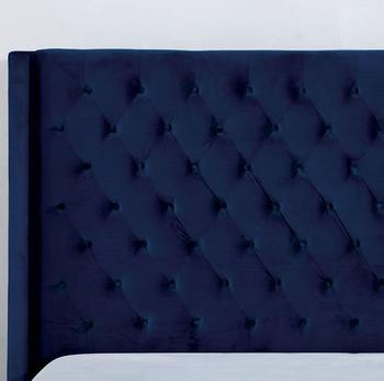 Adita Blue Bed
