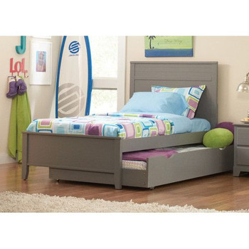 Aldo Clay Twin Platform Bed (No Trundle)