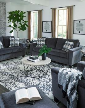 "GAVINA Gray 89"" Wide Sofa"