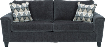 "GAVINA Gray 89"" Wide Sofa"