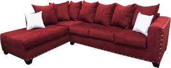 "EXELLA Wine 113"" Wide Sectional"