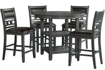 EMMER Gray 5 Piece Counter Set