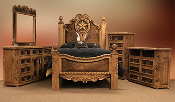 Weston Chest Rope Star With Cowhide
